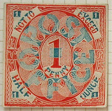 Penny Black, el sello más antiguo del mundo