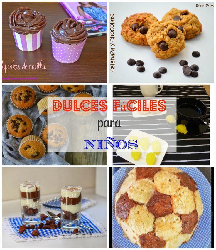 Dulces super fáciles para que cocinen los niños