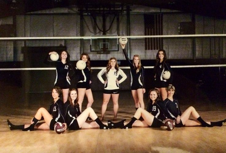 Cool ,crazy and Unique Poses for Volleyball Teams wishes