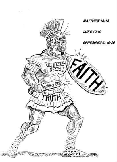 Free Coloring Pages Armor Of God Sword The Spirit Hypsis
