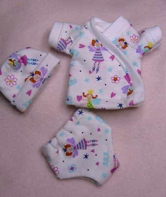 Ooak Doll Clothes Diaper Cover Set For 6 7 Inch Baby
