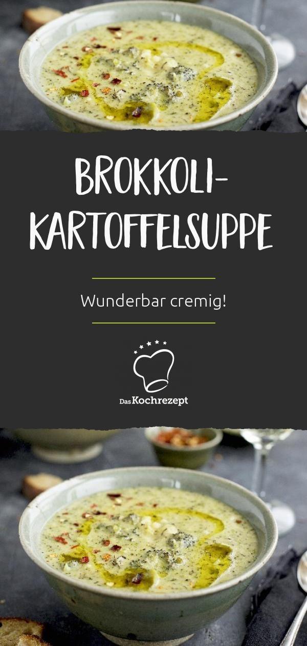 Sopa de batata com brócolis   – Suppen & Eintöpfe
