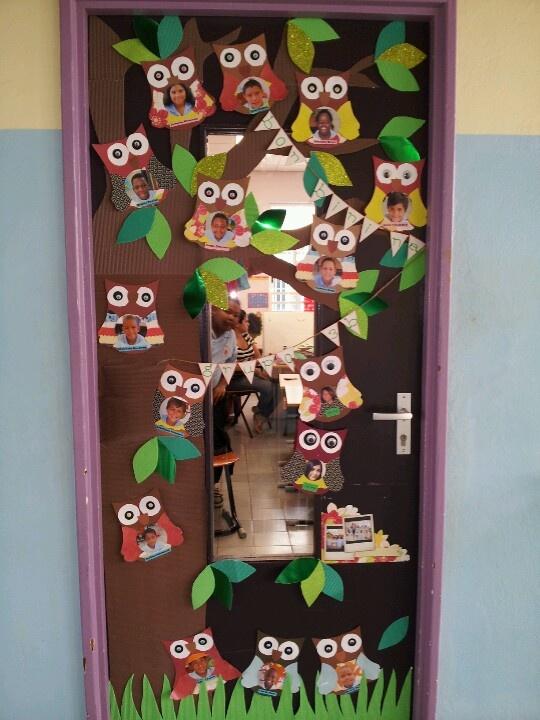 My classroom door @ Scol Paso pa Futuro, Aruba