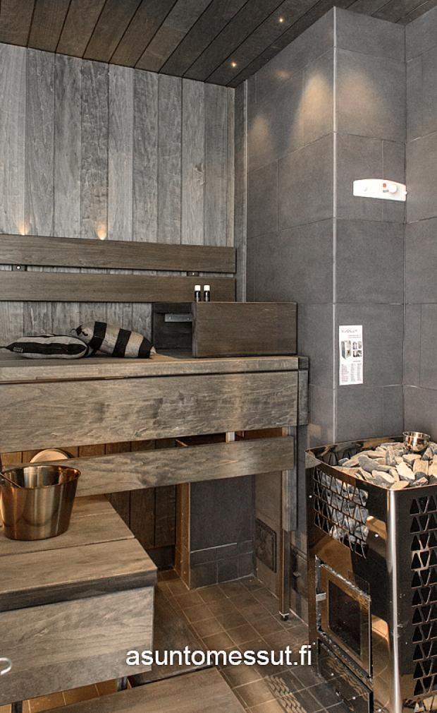 Passiivikivitalo Lumikki - Sauna | Asuntomessut
