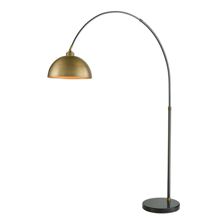Made of metal comes with metal shade this dimond lighting magnus floor lamp is made of metal it takes a 100 watt medium bulb not included
