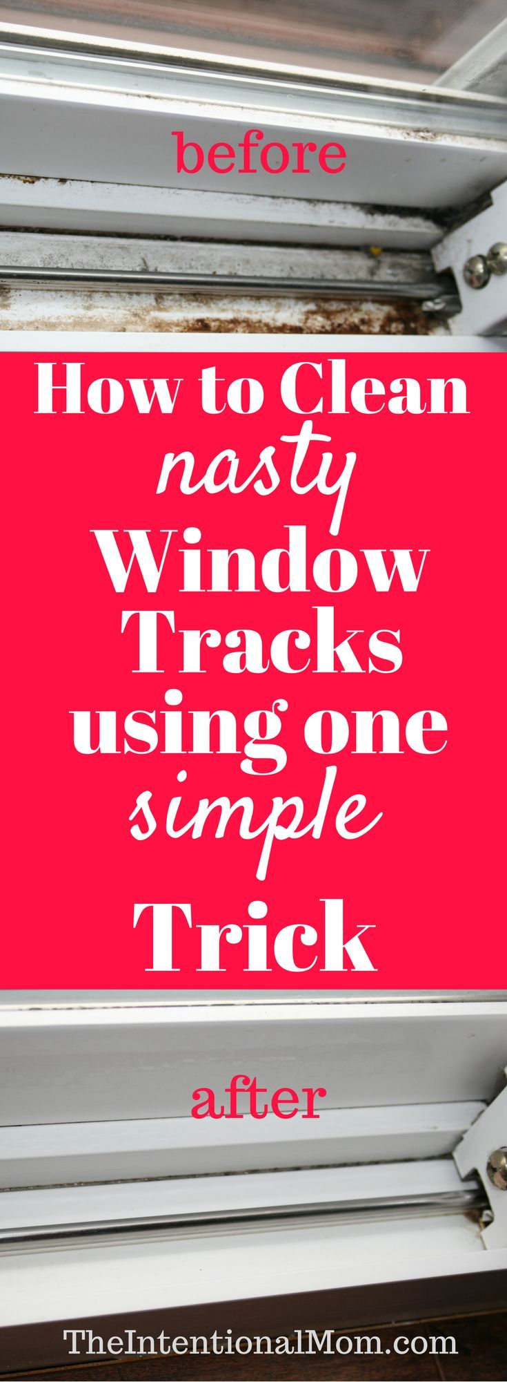 How to clean nasty windows with one trick!