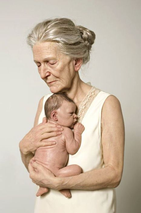 Circle of life...and it goes so rapidly! Love This! Would love a pic like this with my grandma