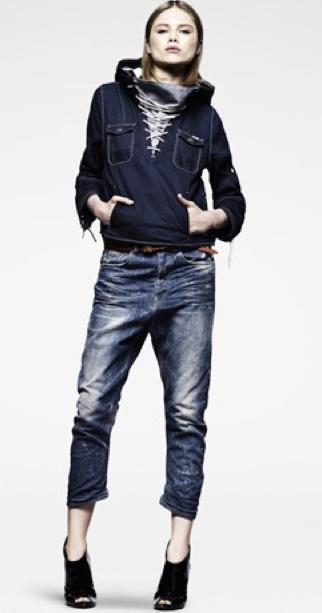 G-Star Raw denim hoodie