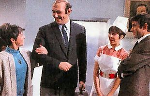Carry On Doctor - Dilys Laye, Bernard Bresslaw, Anita Harris & Jim Dale in Doctor - What a Carry On Multimedia