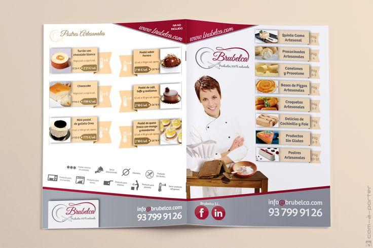 Maquetación de Catálogo de Productos de Brubelca