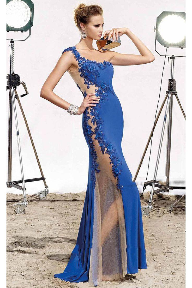 25 best OKdress Lace Long Evening Gowns images on Pinterest | Long ...