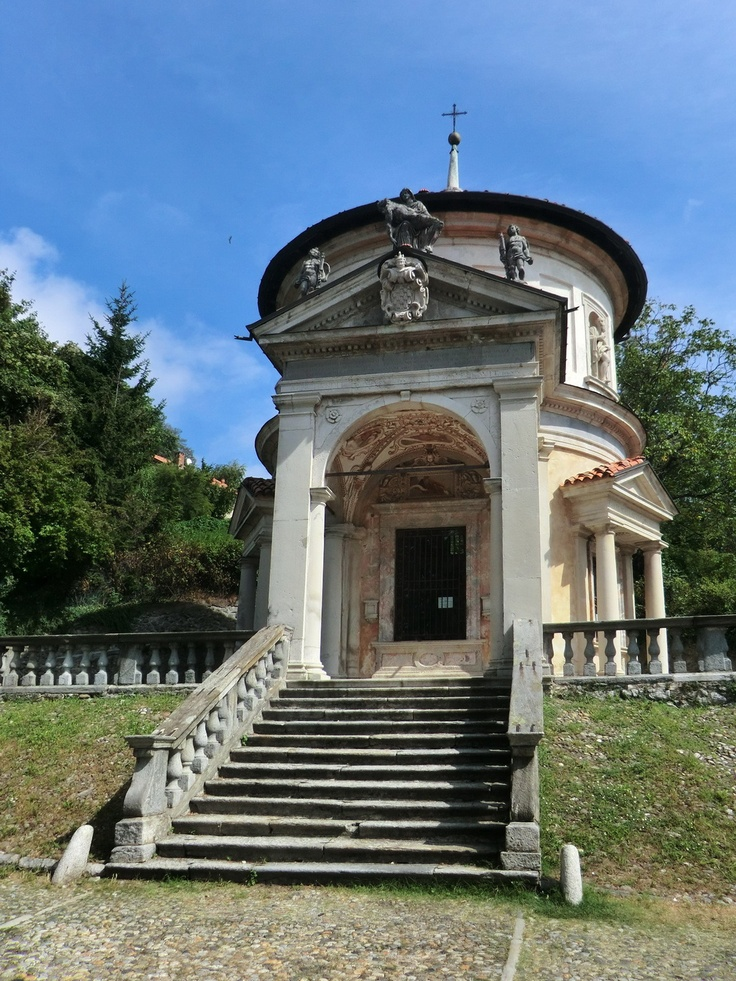 ♕ℛ. UNESCO. ITALY. The Sacro Monte of the Rosary, Varese province, Lombardy region