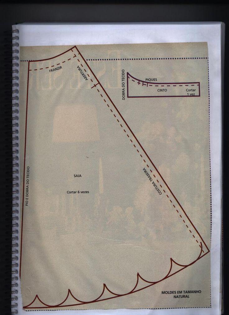 Free pattern PAGE 2 OF 2 notasdivinais: VESTIDO DE BONECA (BARBIE)