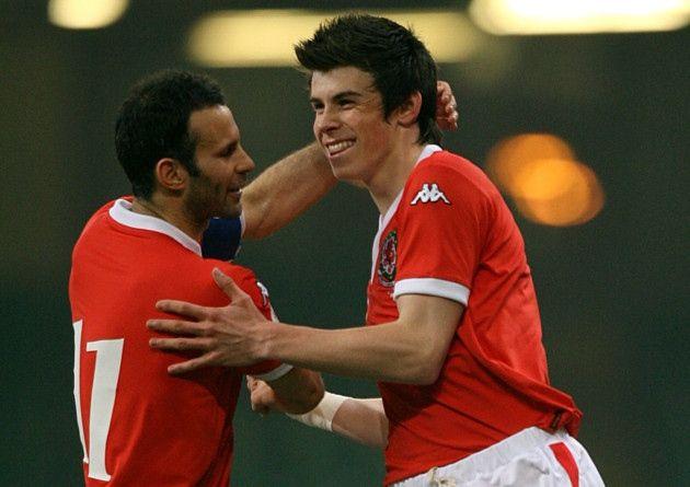 Ryan Giggs and Gareth Bale, Wales