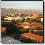 Founded in 1885, the University of Arizona is the oldest university in Arizona, predating the state itself by 27 years. It is a large school with a total enrollment of around 40,000 students and is known for its research in astronomy. Built in the mid-1880s, Old Main is the oldest building on campus, and it is rumored to be haunted by Carlos Maldenado, who helped supervise its construction. He was murdered in 1888. During renovation in the winter of 1941/42, construction workers bega