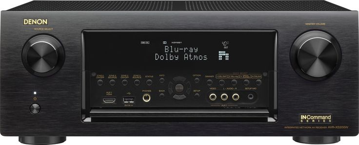 9.2-channel home theater receiver with Wi-Fi®, Bluetooth®, and Apple AirPlay®