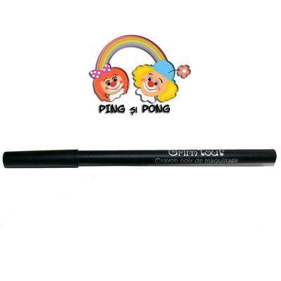 Creion-contur-negru-pictura-pe-fata-facepainting