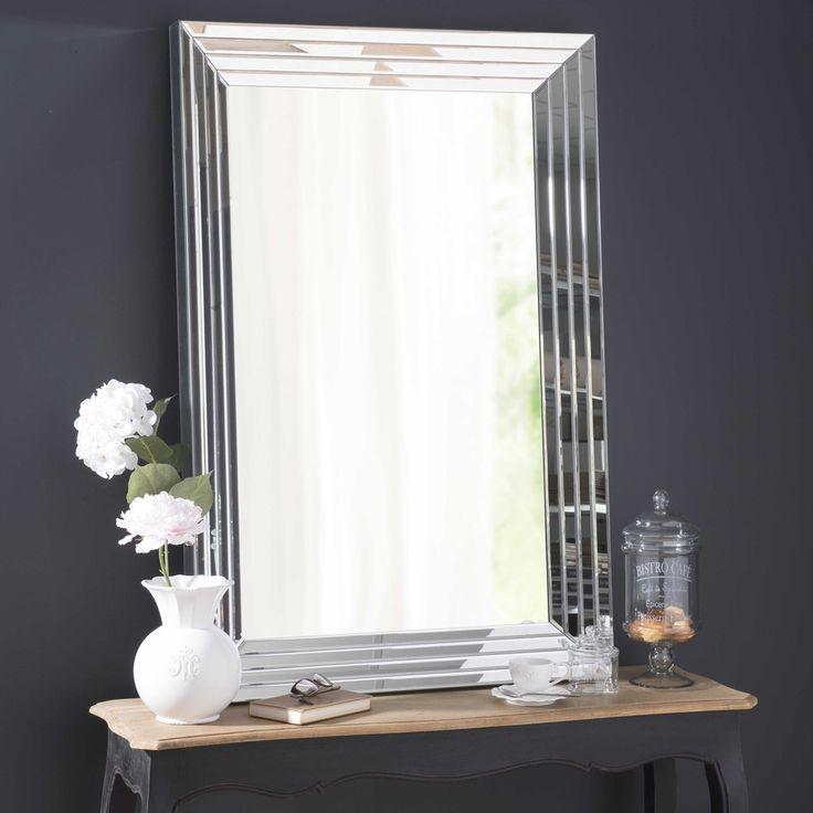 Fancy Facettierter Spiegel CRISTALLIN H cm