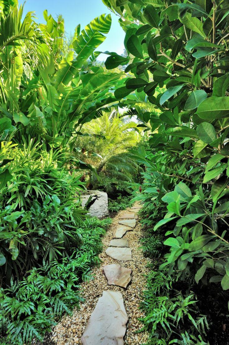 Glamorous bamboo fencing mode miami tropical landscape image ideas - Landscape Architecture By Designer Craig Reynolds