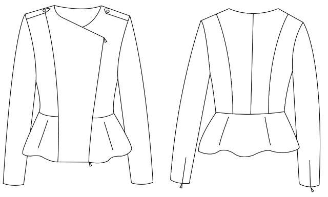Creating a pattern from scratch is such a slow process. You can find out more at www.sewionista.com ... Einen Schnitt selber zu konstruieren dauert gefühlt ewig, ihr könnt dem Prozess meiner neuen Bikerjacke für die Aktion #vomlaufstegindenkleiderschrank auf meinem Blog folgen