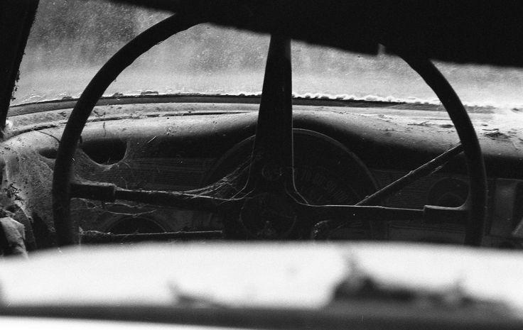 https://flic.kr/p/NemUbE | Interior, Abandoned Car | Dusty inside of an abandoned car.