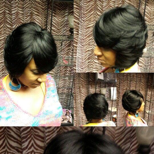 Stupendous 1000 Images About Quick Weave Bob On Pinterest Quick Weave Short Hairstyles Gunalazisus