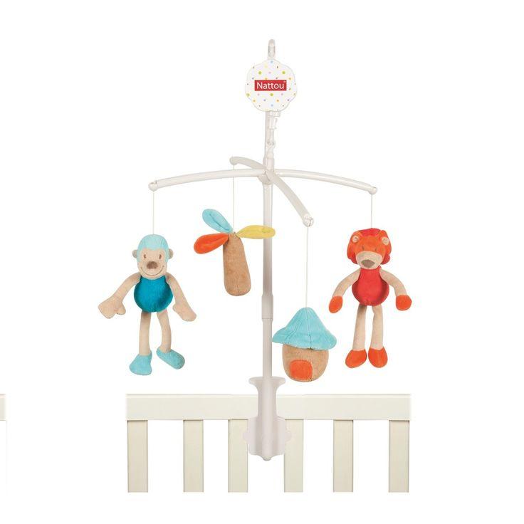 Mobile monkey 36cm - #baby #bebe #doudou #knuffel #knuffelbeer #cuddlytoy #kuscheltier #nattou #papa #mama #mom #dad #father #mother #parents #maman #grossesse #zwanger #pregnant #pregnancy #zwangerschap #enceinte #cuddly #peluche #plush #Plusch #schwanger #geboorte #geburt #birth #naissance #vater #eltern #mutter #ragdoll #cuddly #toy #cadeau #gift #geschenk #aap #affe #monkey #singe #lion #leeuw #lowe #blauw #bleu #blue #blau #oranje #orange #beige