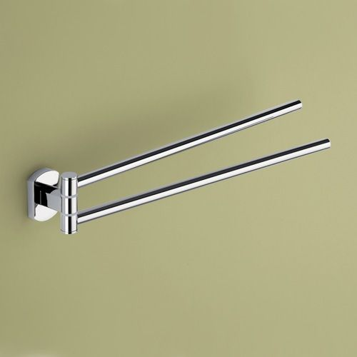 Inspirational Swivel towel Bar Brushed Nickel