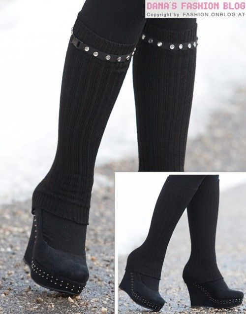 17 Awesome DIY Leg Warmers For The Cold Season | Shelterness