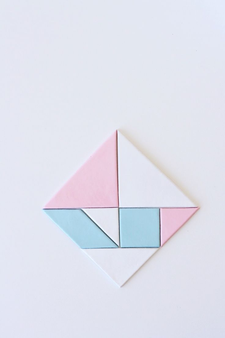 homemade tangram magnets - Just made these but am going to use stronger round magnets instead of the magnetic sheets for extra strength.