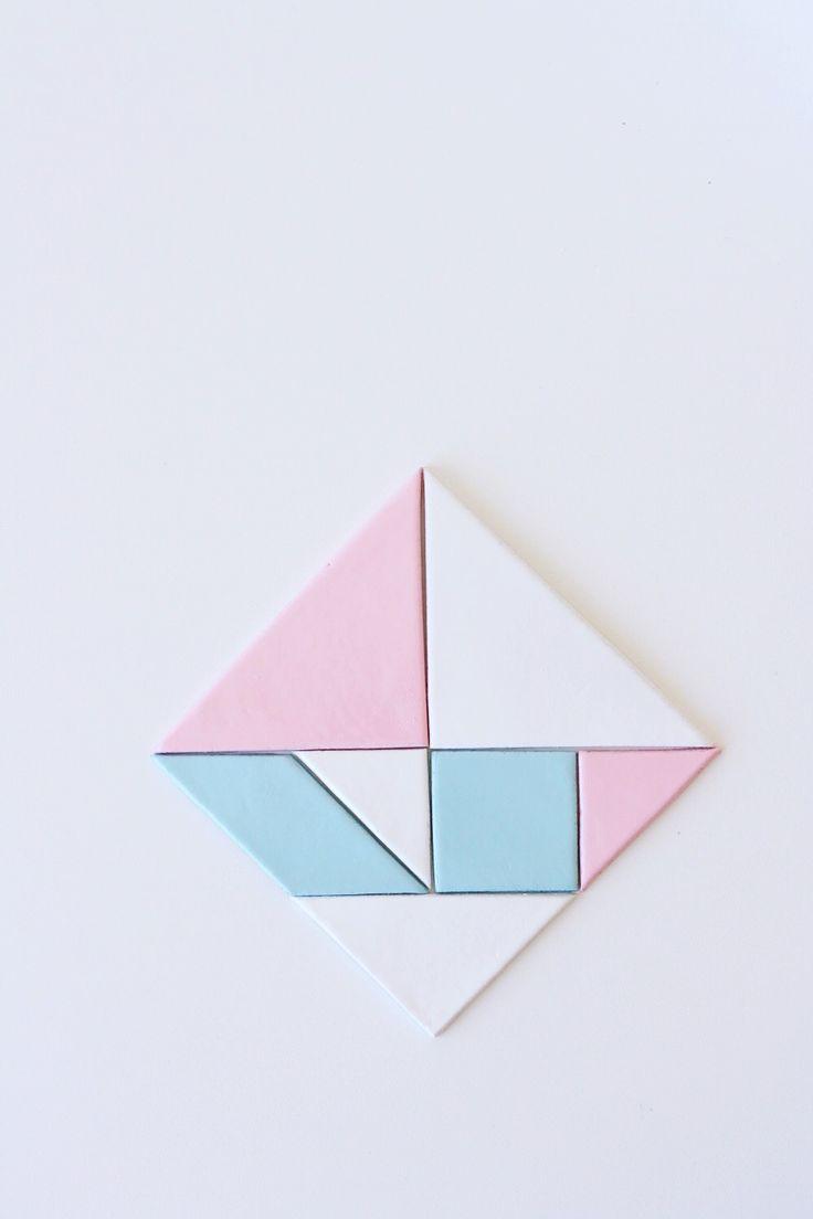 Buy magnets for crafts - Tangram Magnets Diy