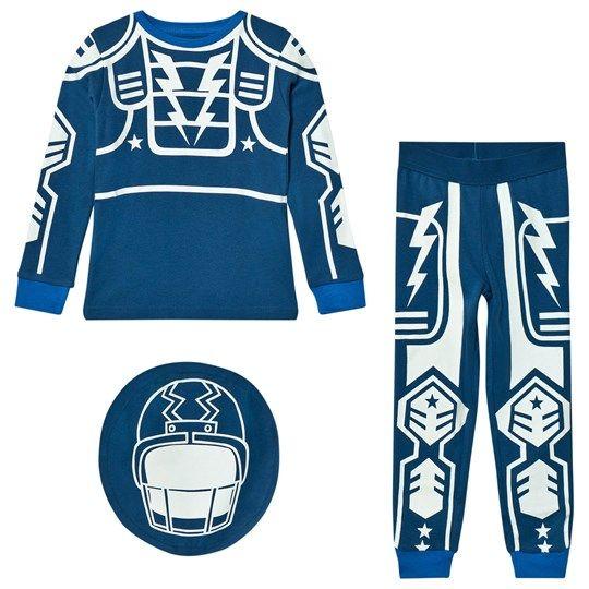Stella McCartney Kids Blue Robot Louie Pyjamas 4962