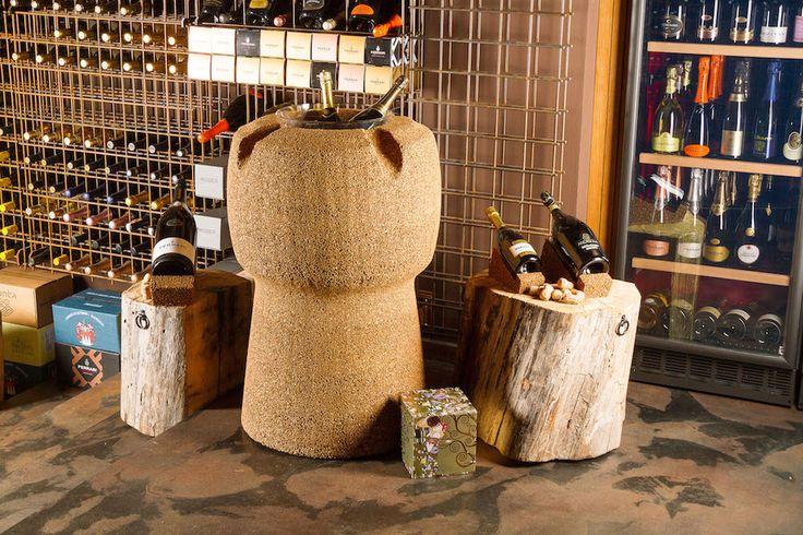 Ghiacciaia In Sughero Tappone Greencorks Collection #ecofriendly #ecodesign #green #sostenibilità #cork #wine