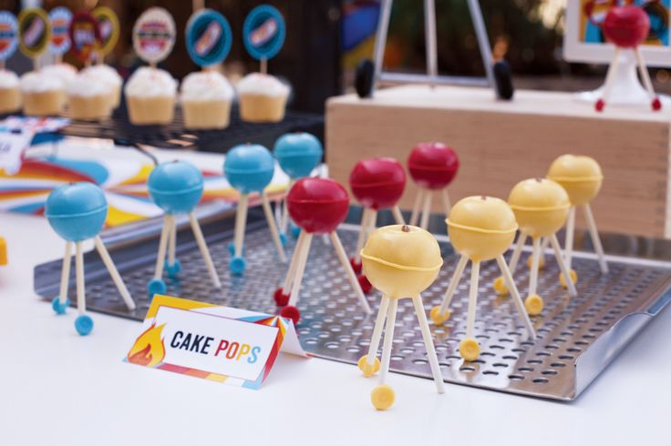 tutorial:  BBQ grill cake pops!!!Food Cake, Bbq Grilled, Grilled Cake, Cake Pop, Parties Ideas, Bbq Cake, 2Nd Birthday, Grills, Bbq Parties