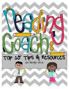 FREEBIE!  Reading Coach Advice and Resources PreK, 1st, 2nd, ...