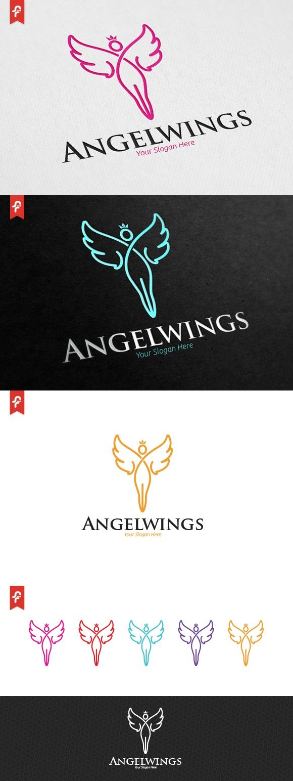 Angel Wings Logo