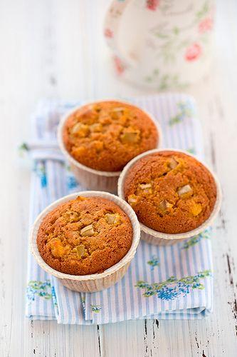 Muffins di quinoa con carote e mela verde