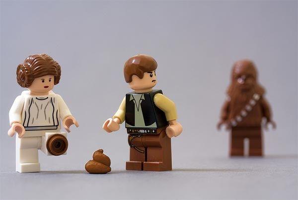 La huella de Chewbacca