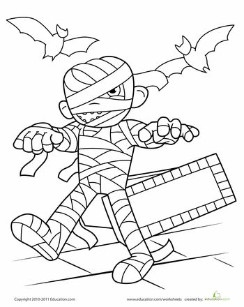 42 best Halloween Speech Therapy images on Pinterest Coloring - best of nice halloween coloring pages