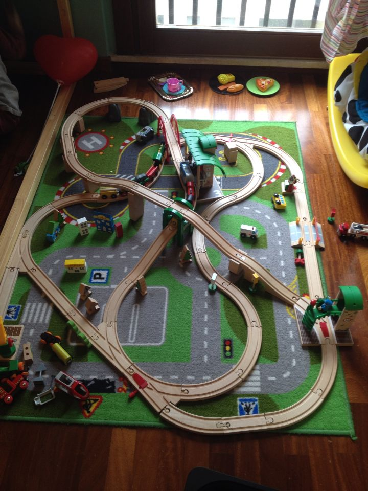 Brio train set - Jack was super into this from 2 1/2 - 4