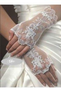gants-mitaines-dentelle-mariage-accessoires-mariee-gants-satin-ceremonie-cocktail - Accessoires du Mariage