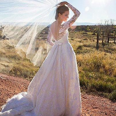 Allison Williams Shares Another Gorgeous Picture From Her Wedding: Allison Williams and Ricky Van Veen got married in a ranch wedding on Saturday!