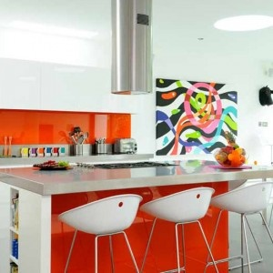 Best Splashbacks Images On Pinterest Kitchen Ideas Glass