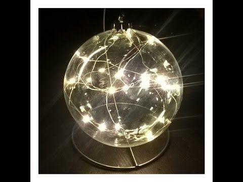 BOMBKA BŁYSKAWICA błyskawiczna ;) Bombka zamiast świecy !!!#Christmasdecorations - YouTube