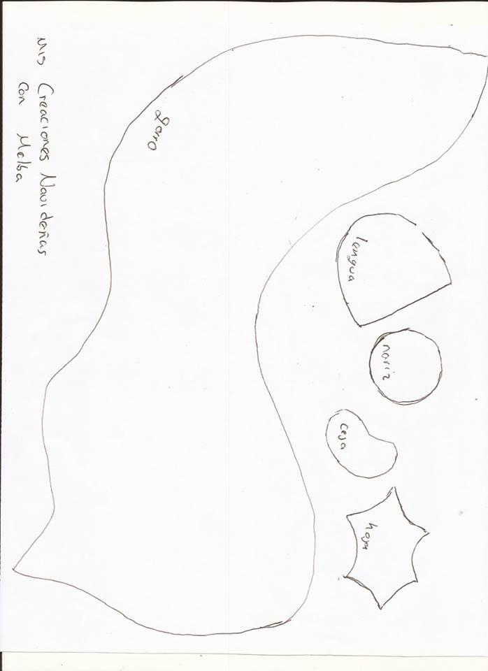 camino de mesa santa claus1