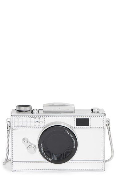 kate spade new york kate spade new york 'steal the spotlight - camera' frame clutch available at #Nordstrom
