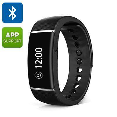 Ordro S55 Smart Wristband - Bluetooth 4.0,  Call/SMS Reminder, Sedentary Reminder, Pedometer, Sleep Management, IP67