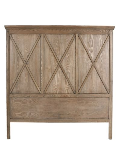 Manto Timber Headboard in Black, White, Elm or Dark Stain – Allissias Attic & Vintage French Style