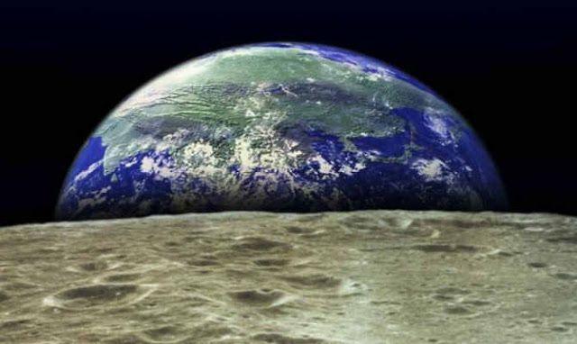 Εκπληκτικές εικόνες από Ιαπωνικό δορυφόρο! Όταν η γη δύει στη Σελήνη – video - kavalarissa.eu