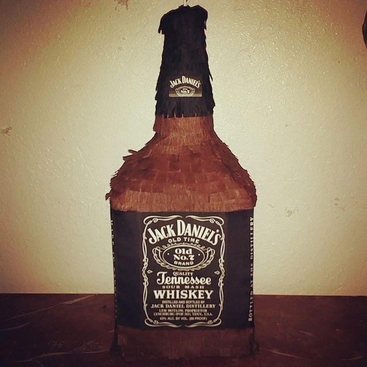 Jack Daniels whiskey pinata!